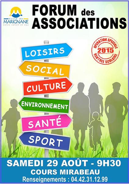 forum des associations-Marignane 2015