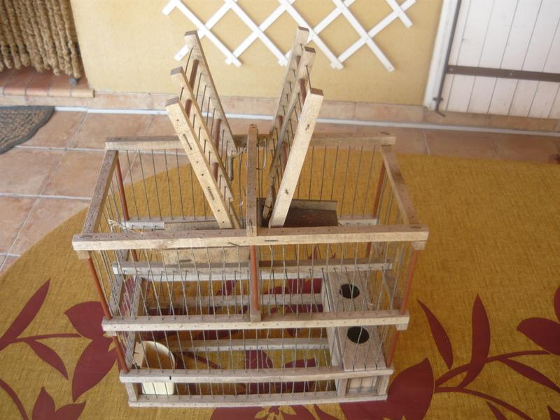 Cage � bascule