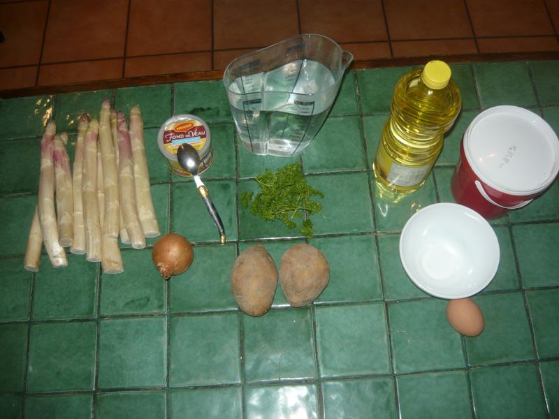 velouter asperges 1 kg