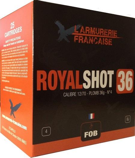 Cartouche chasse Royal Shot 36