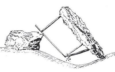 Les tendelles ou lecques chasse la grive aux tendelles - Fabrication glue pour chasse ...